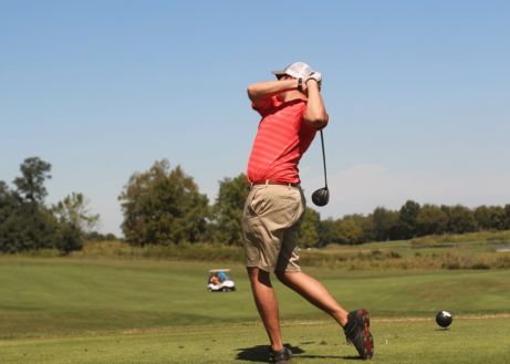 Vakantieparken met een golfbaan