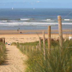 Strand bij Sunparks de Haan aan Zee