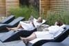 Relaxen op  luxe ligbedden