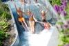 Hof van Saksen kinderen waterpret in het zwembad