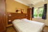 Slaapkamer van een bungalow op Hoog Vaals