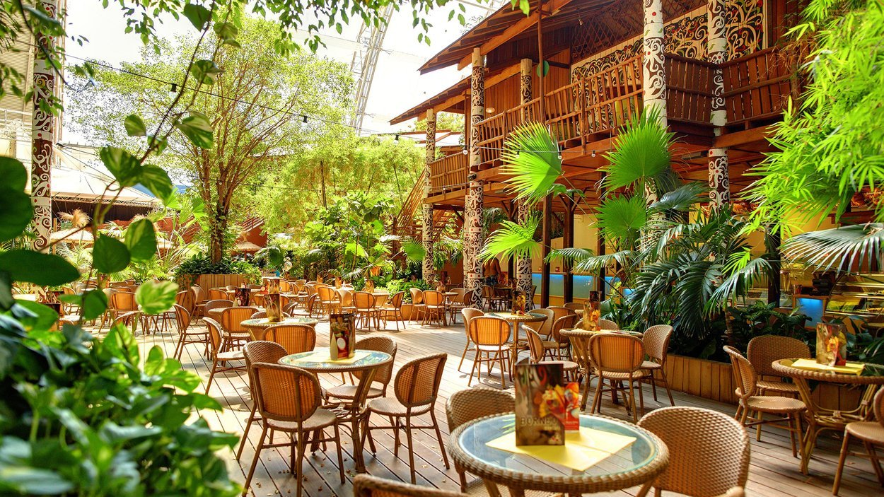 tropical islands bungalowpark krausnick. Black Bedroom Furniture Sets. Home Design Ideas