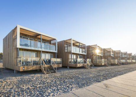 Strandhuisjes in Nederland