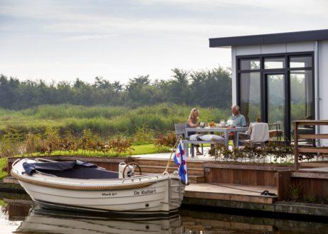 Bungalow met boot? Check deze 9 huisjes met boot!
