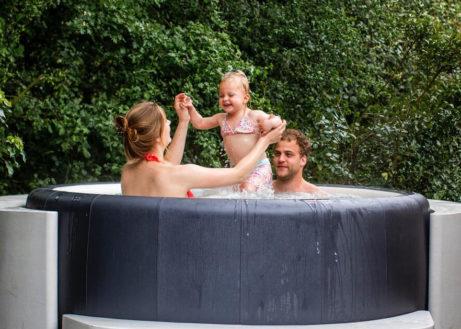 Bungalow met bubbelbad in Nederland