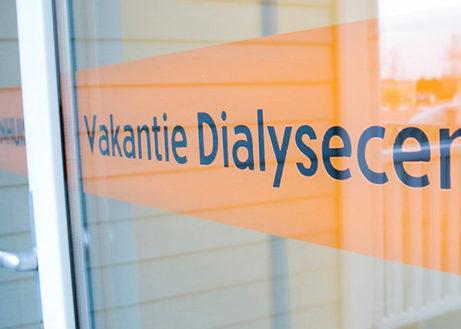 Cape Helius: dialyse met uitzicht over het Haringvliet