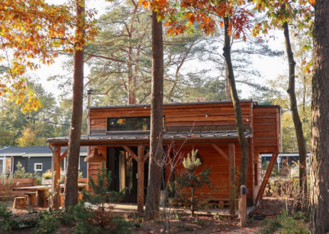 Kom relaxen in dit tiny house op De Veluwe