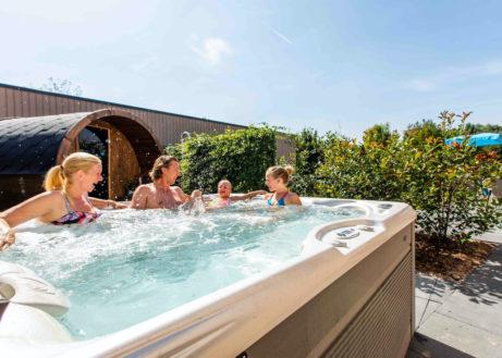 Samen genieten in deze grote wellness villa in de Achterhoek