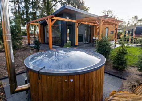 Tip! Bos lodge met zalig hot tub