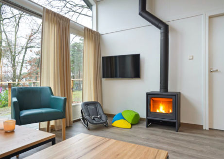Knusse 3-persoons babybungalow in Limburg