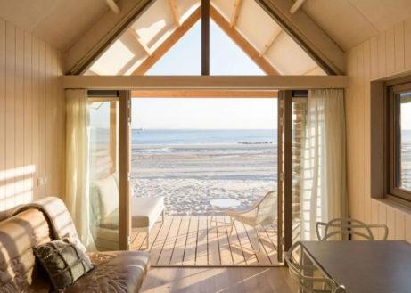 Slapen op het strand in een Beach House!